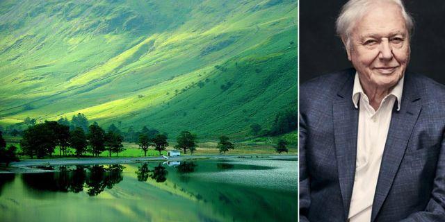 Lake District finns med på Unescos världsarvslista och är en av programledaren David Attenboroughs favoritplatser i Storbritanninen.  Visit Britain / BBC