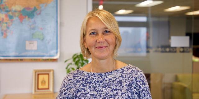 Chef för externa relationer, FN:s utvecklingsorgan UNDP Ulrika Modéer