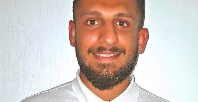 Sarmad Alsadi, delägare till kaféet Lemon Garden. Foto: Privat.
