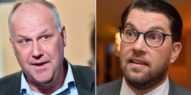 Jonas Sjöstedt och Jimmie Åkesson TT