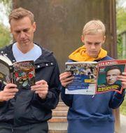 Maas, Aleksej och Zahar Navalnyj. TT