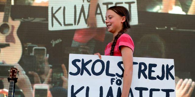 Greta Thunberg. LUCAS JACKSON / TT NYHETSBYRÅN