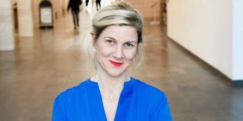 Louise Eklund, regionråd för Liberalerna i Region Skåne. Liberalerna