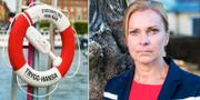 Lena Nitz, polisförbundets ordförande.  TT