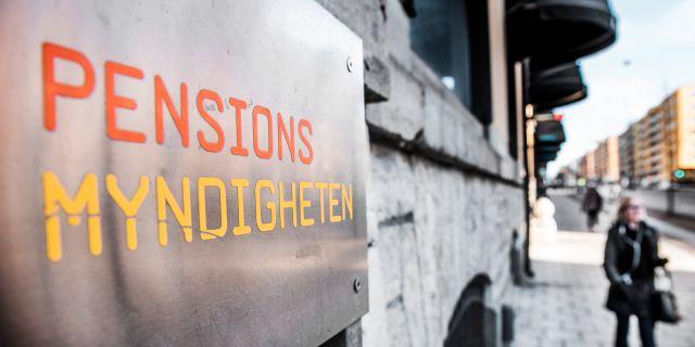 Pensionsmyndigheten. Arkivbild. Tomas Oneborg/SvD/TT / TT NYHETSBYRÅN
