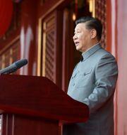 Xi Jinping. Xie Huanchi / TT NYHETSBYRÅN