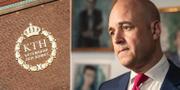 KTH och Fredrik Reinfeldt använd i Kevin Lius marknadsföring.  TT