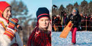 Sofia Jannok, Ella-LiSpik och Greta Thunberg. TT/AFP