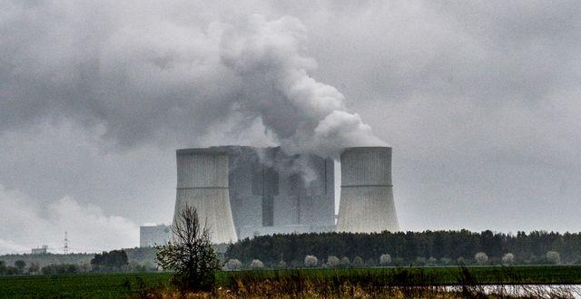 Vattenfalls kolkraftverk Schwarze pumpe i Lausitz i östra Tyskland. Lars Pehrson / SvD / TT / TT NYHETSBYRÅN