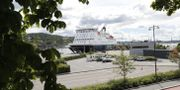 Fartyg i Oslo hamn. Geir Olsen / TT NYHETSBYRÅN