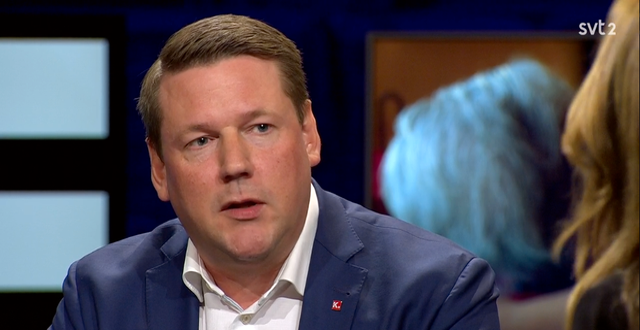 Tobias Baudin, Kommunal SVT/Skärmdump