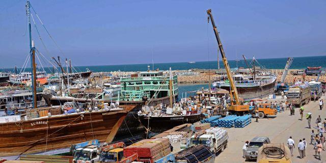 Arkivbild från 2013. Hamnen i Bosaso.  Mohamed Abdiwahab / AFP