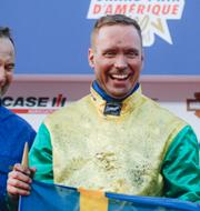 Hästen Face Time Bourbon och Björn Goop vann Prix d'Amérique. TT