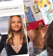 Siri Steijer, Timbro, är kritisk till den svenska föräldaledigheten. TT/Skärmdump från Aftonbladet.