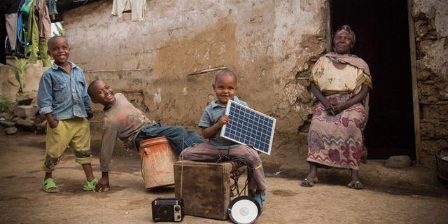 Beyond the Grid Fund for Zambia (BGFZ) får FN:s klimatpris **Endast för redaktionell användning. Bilden kommer från en extern källa och distribueras i sin ursprungliga form som en service till TT:s abonnenter** Jason J Mulikita/TT / TT NYHETSBYRÅN