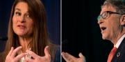 Melinda Gates och Bill Gates TT