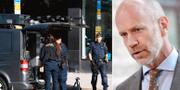 Arkivbild från polisinsatsen 6 september 2019/Advokat Henrik Olsson Lilja TT