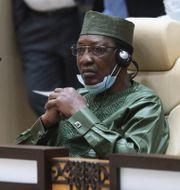 Tchads president Idriss Deby. Arkivbild.  Ludovic Marin / TT NYHETSBYRÅN