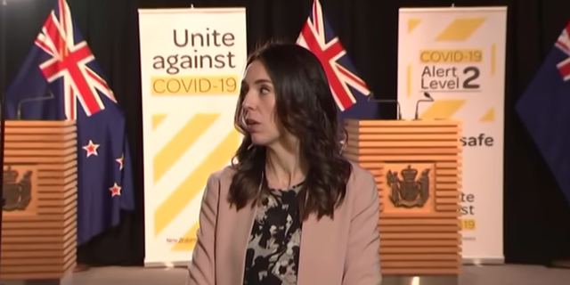 Jacinda Ardern.  The AM Show