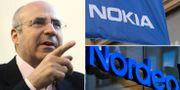 Arkivbilder: Bill Browder, Nokia och Nordea. TT