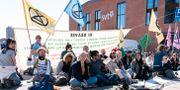 Bild från protesten.  Johan Nilsson/TT / TT NYHETSBYRÅN