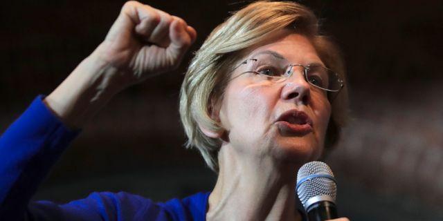 Elizabeth Warren. Charles Krupa / TT NYHETSBYRÅN