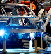 Volvo Cars fabrik i Torslanda. ADAM IHSE / TT / TT NYHETSBYRÅN