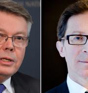 Bo Lundgren och Hans Lindblad. TT