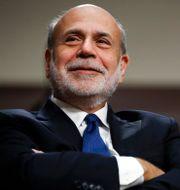 Bernanke tillsammans med Fed-efterträdaren och inkommande finansministern Janet Yellen. Arkivbild. Jacquelyn Martin / TT / NTB Scanpix