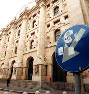 Borsa Italiana LUCA BRUNO / TT / NTB Scanpix