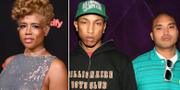 Kelis/Pharrell Williams och Chad Hugo i The Neptunes. TT