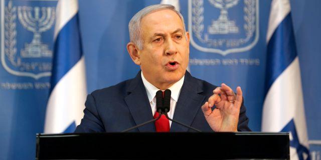 Benjamin Netanyahu CORINNA KERN / TT NYHETSBYRÅN