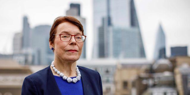 Catherine McGuinness, Londons finanschef. TOLGA AKMEN / AFP