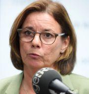 Avgående språkröret Isabella Lövin (MP). Amir Nabizadeh/TT / TT NYHETSBYRÅN