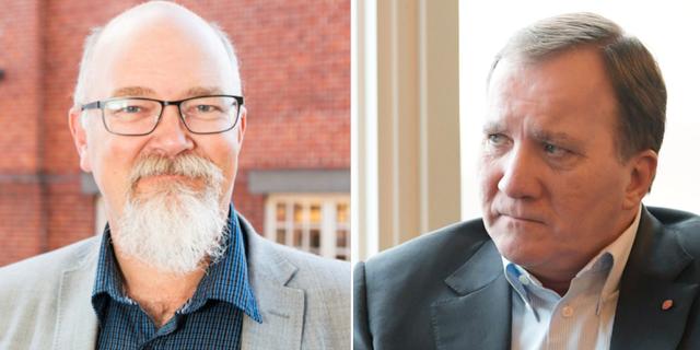 Anders Rubin S-kommunalråd i Malmö / statsminister Stefan Löfven. Socialdemokraterna i Malmö / TT