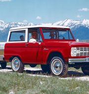 Klassisk Bronco från 1966. Arkivbild. TT NYHETSBYRÅN