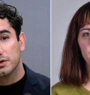 Ardalan Shekarabi och Vasiliki Tsouplaki TT