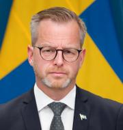 Johan Forssell/Mikael Damberg.  TT