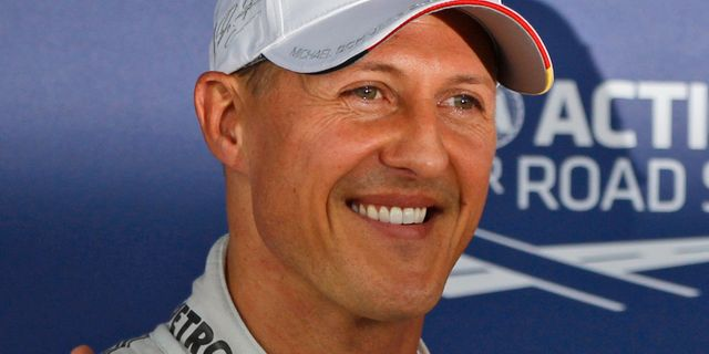 Schumacher toppnyhet i tyskland