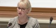 Utrikesminister Margot Wallström (S). SVT
