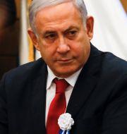 Benjamin Netanyahu. Ariel Schalit / TT NYHETSBYRÅN