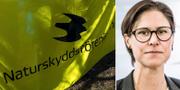 Johanna Sandahl, ordförande för Naturskyddsföreningen. TT