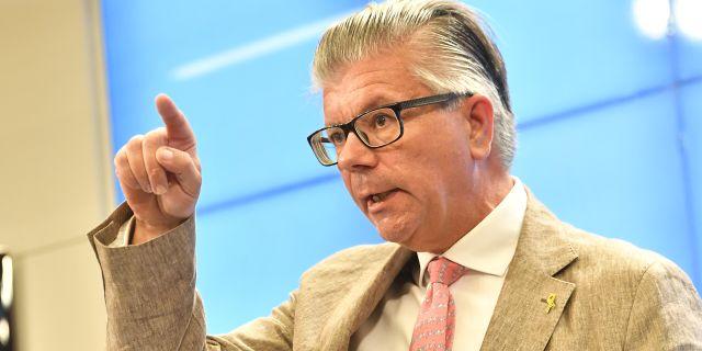 Hans Wallmark (M). Jonas Ekströmer/TT / TT NYHETSBYRÅN