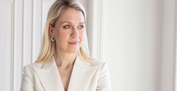 Klarnas Fashion Director Emilia de Poret.  Foto: Susanne Kindt