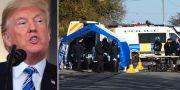 Donald Trump/polisen utreder mordförsöken på Skripal. TT