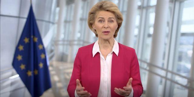 EU-kommissionens ordförande Ursula von d - / TT NYHETSBYRÅN