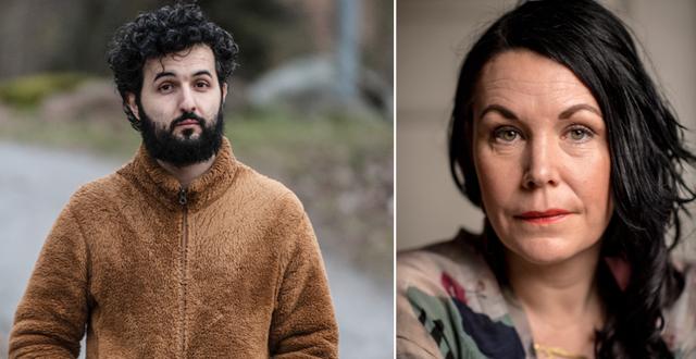 Soran Ismail och Maria Sveland.  TT.