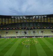 Arenan i Gdansk.  Aleksandra Szmigiel / TT NYHETSBYRÅN