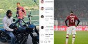 Zlatans uppdatering, arkivbild. Skärmdump från Zlatans Instagram, TT