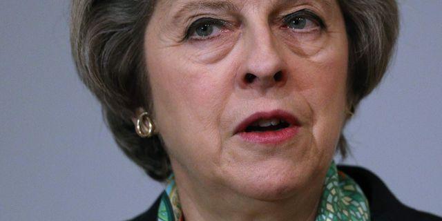 Theresa Mays uttalanden innebär att Storbritannien är på väg mot hårdast möjliga brexit, skriver New Statesmans Stephen Bush i en analys. DAN KITWOOD / POOL
